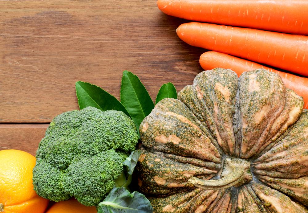 Тыква морковь овощи