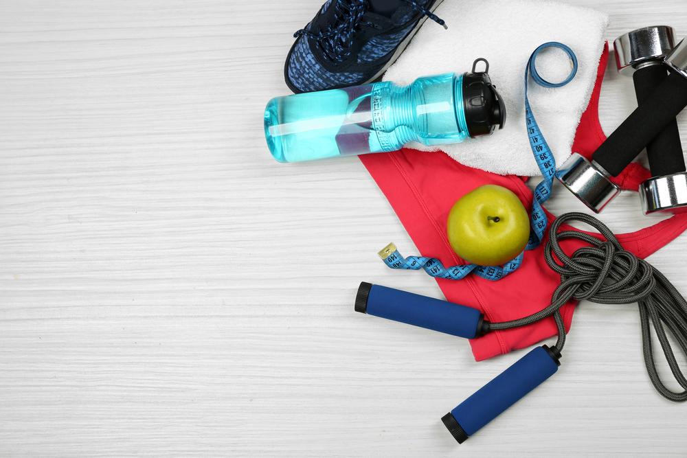 Вода, фитнес, питание